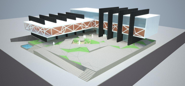Plaza X / MEGA arquitectura