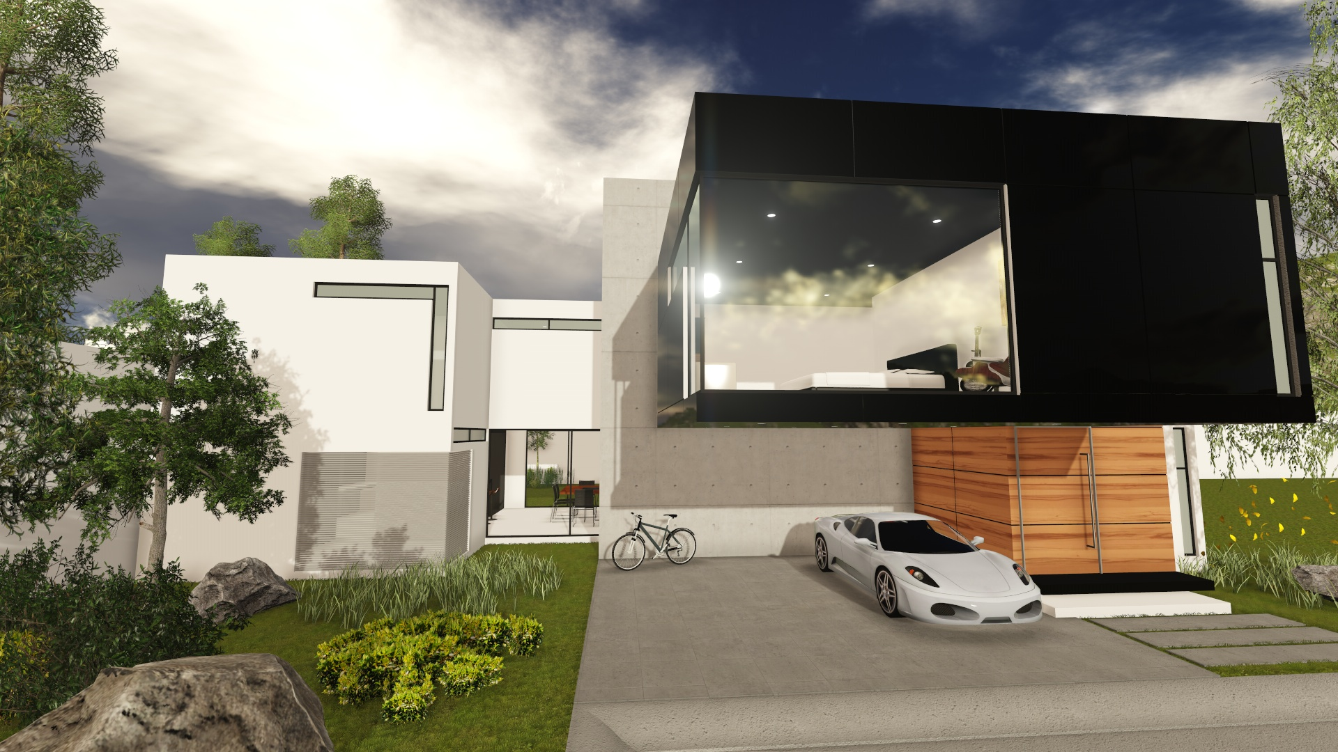 MZ-house / MEGA arquitectura