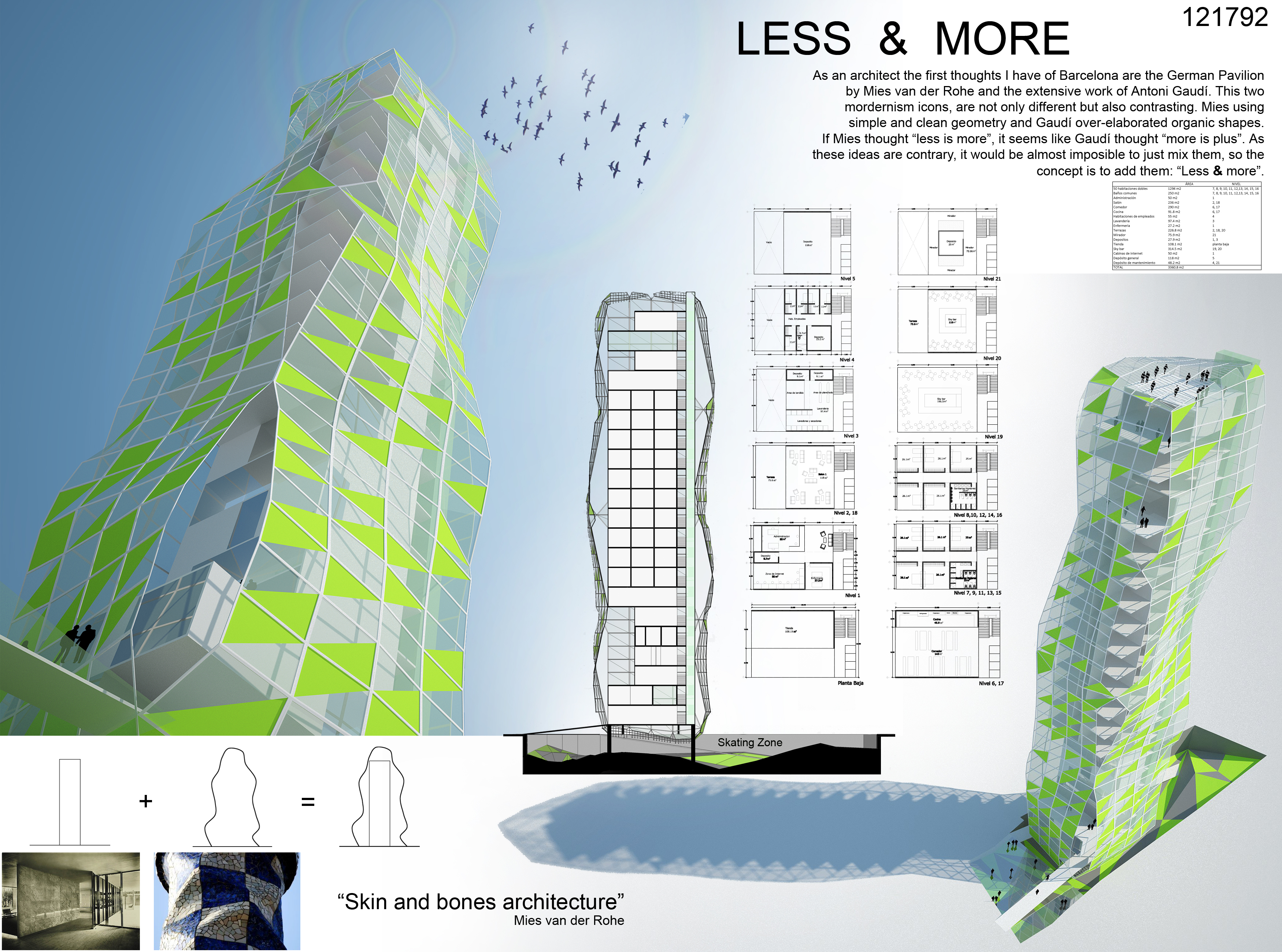 Less & More / MEGA arquitectura