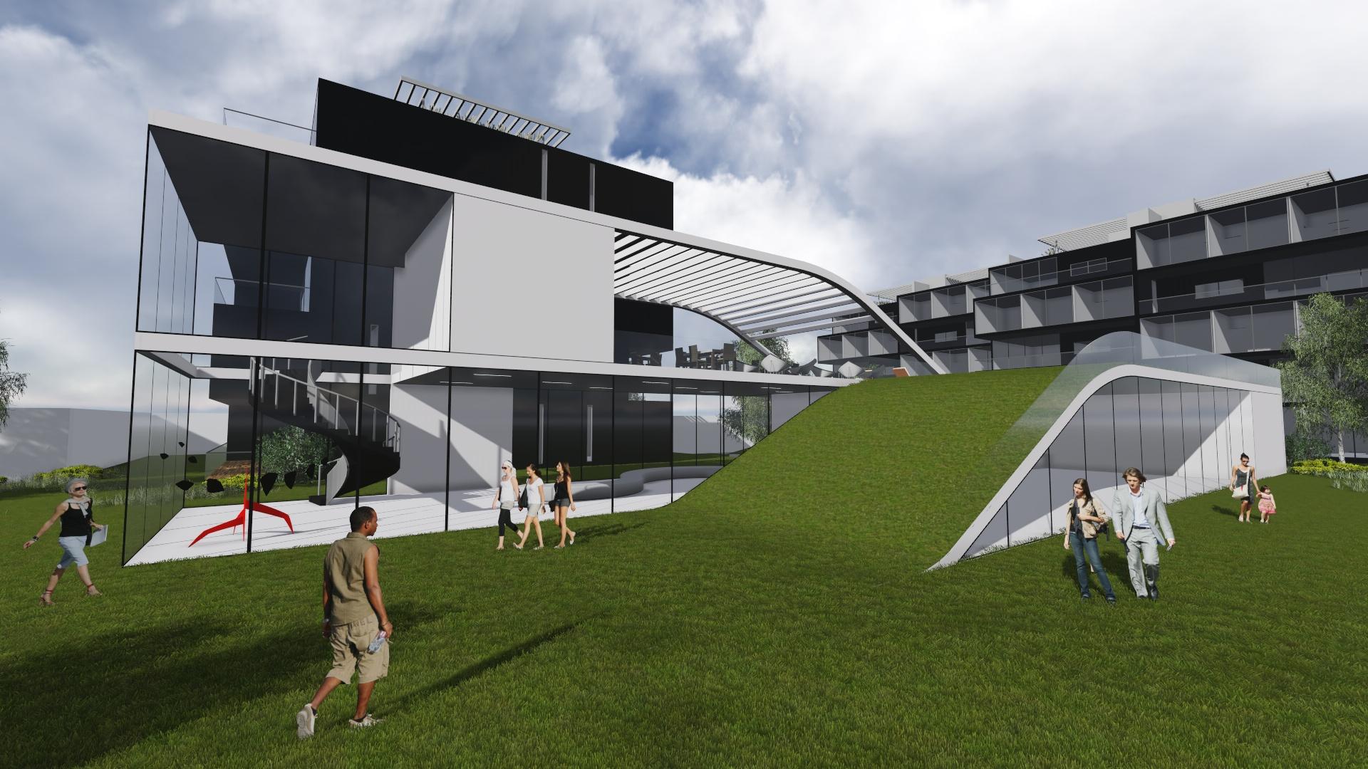 CH-club house / MEGA arquitectura