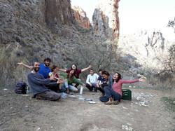 Trip to Amud gorge