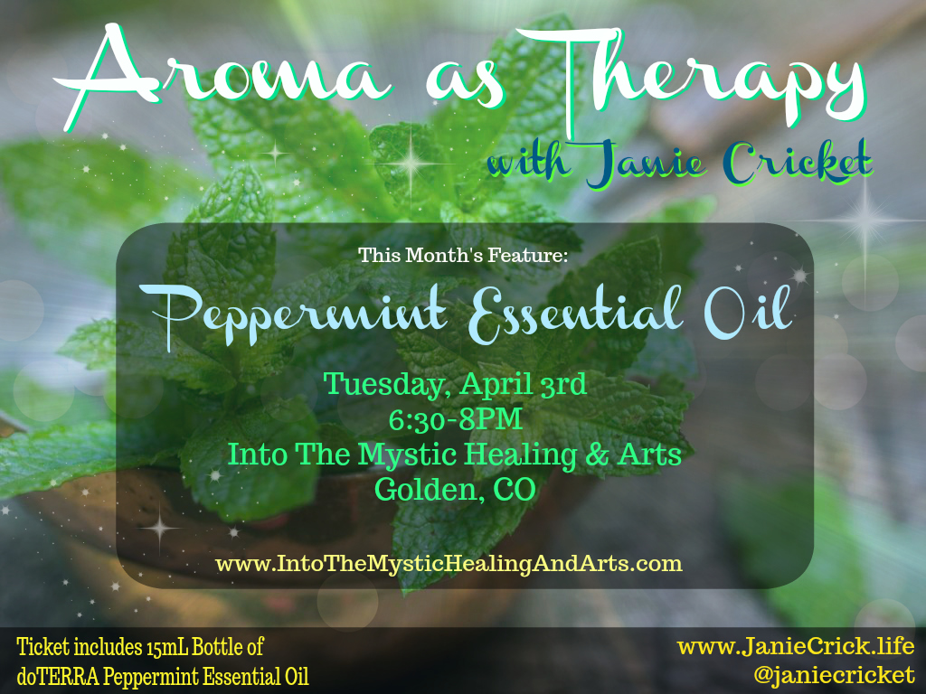 Peppermint Aroma As Therapy