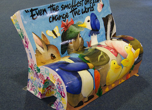 Follow the Book Bench Trail