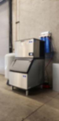 ATI Large Ice Package. 300lb Ice Machine with Custom Bulk Filler,