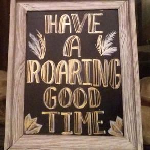 Roaring sign
