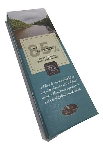 Tumaco Single Origin 80% Dark Chocolate 100g