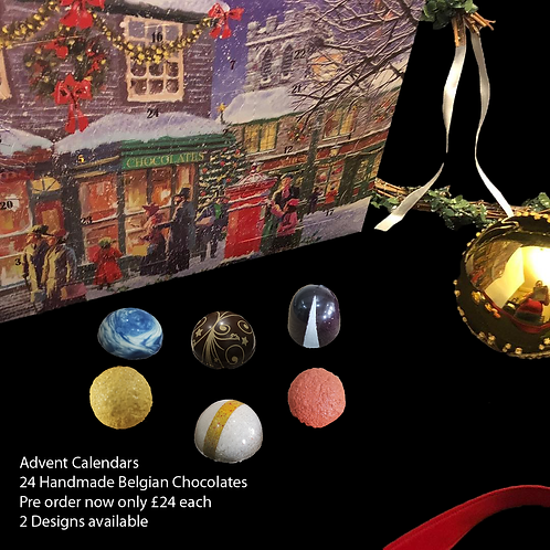 Belgian Chocolate Advent Calendar