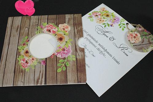 Premium Düğün Davetiye (FANTAZİ ZARF)