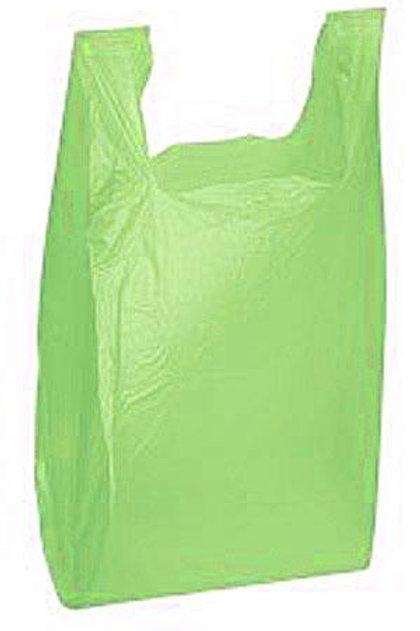 Taška HDPE 15kg, 100ks/blok, zelená