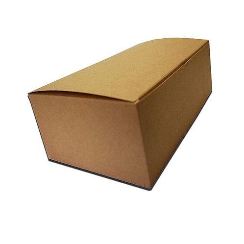 Krabička na kuře 150x100x80mm, hnědá, 100ks/bal.