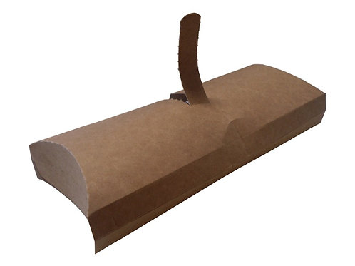 Krabička na Wrap, Tortilu malá 80x32x200mm, kraft 100ks/bal.