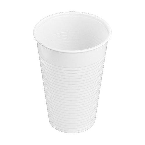 Kelímek nápojový PP 300ml, 100ks/bal., bílý