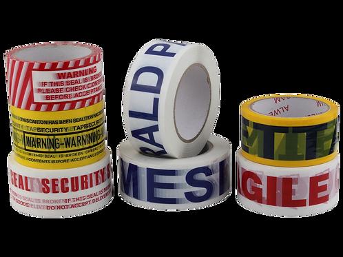 Lepící páska 48mm/66m, SILENT (tichá), potisk 1barva