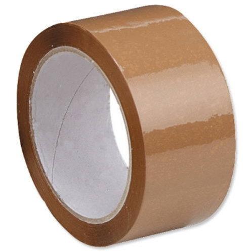 Lepící páska 48mm/66m, HOT MELT, 25mic., hnědá