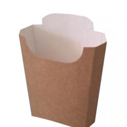 Krabička na hranolky malá kraft 100g, 500ks/bal.