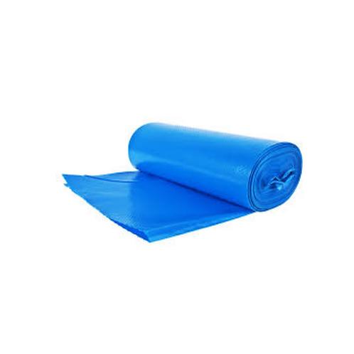 Pytle na tříděný odpad PAPÍR, modré se zatahovací páskou 35L, 15ks/role