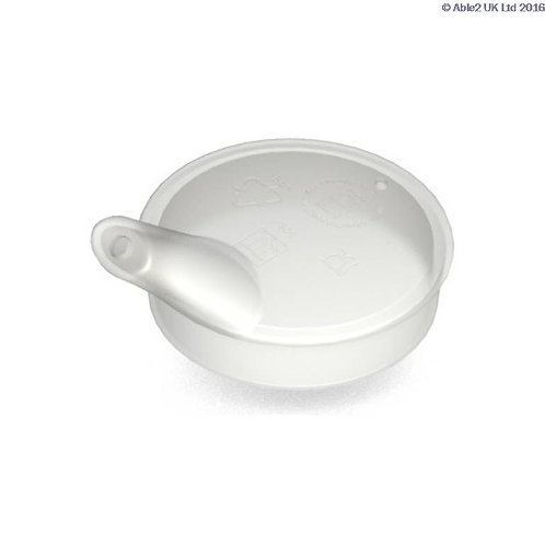 Ornamin Spouted Lid for Mugs - Transparent