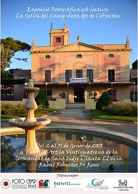 74 CARTELL EXPOSICIO LA SELVA A REUS din