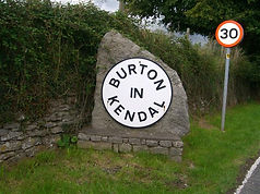 Burton-in-Kendal Sign