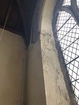 Vestry East Window Internal tracery reve