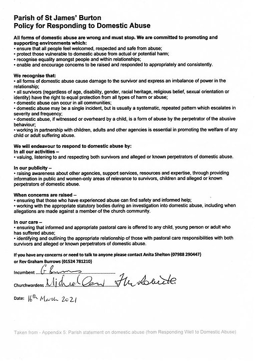 Domestic Abuse Policy Burton 2021 03 Sig
