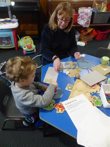 Crafting based on the Bible story