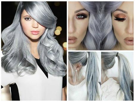 """""""Granny Hair"""" la nueva tendencia en coloración de cabello"""