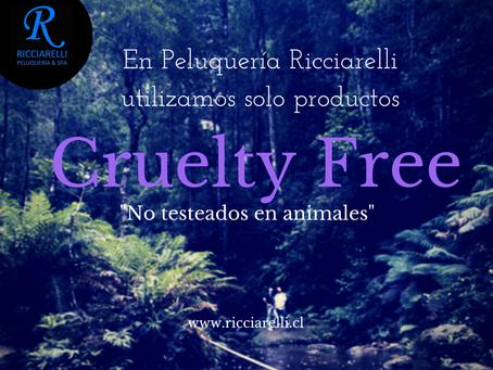 Solo productos Cruelty Free en Peluquería Ricciarelli