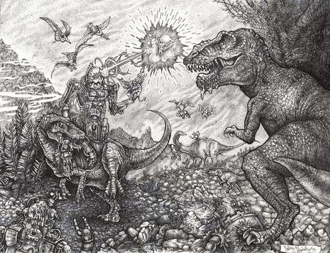 Robots VS Dinosaurs