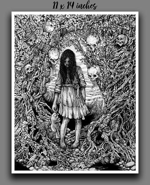 """Skull Forest"" Signed Print"