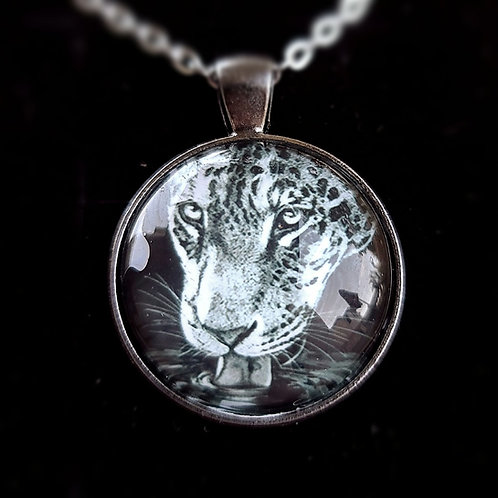 'Jaguar' - Art Pendant Necklace