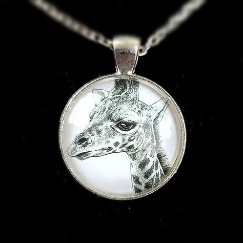 'Giraffe' - Art Pendant Necklace