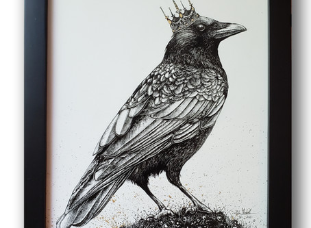 Creating 'King Crow'