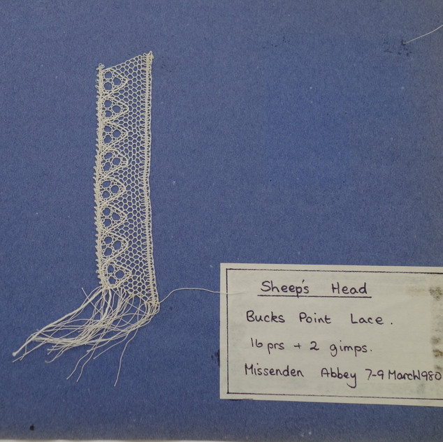 This was my third piece of Bobbin Lace