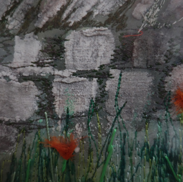 A detail from a country wall.