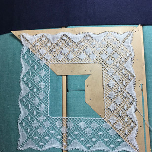 Sarahs  completed square
