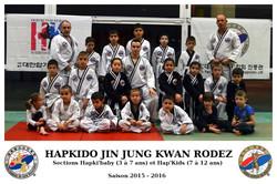 Section Hapkido JJK Enfants