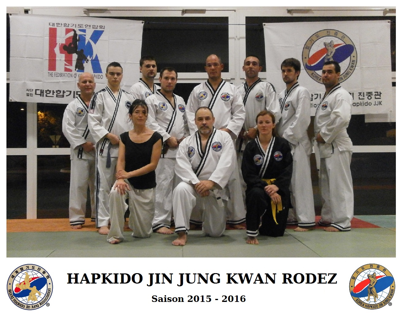 Groupe Hapkido Jin Jung Kwan Rodez