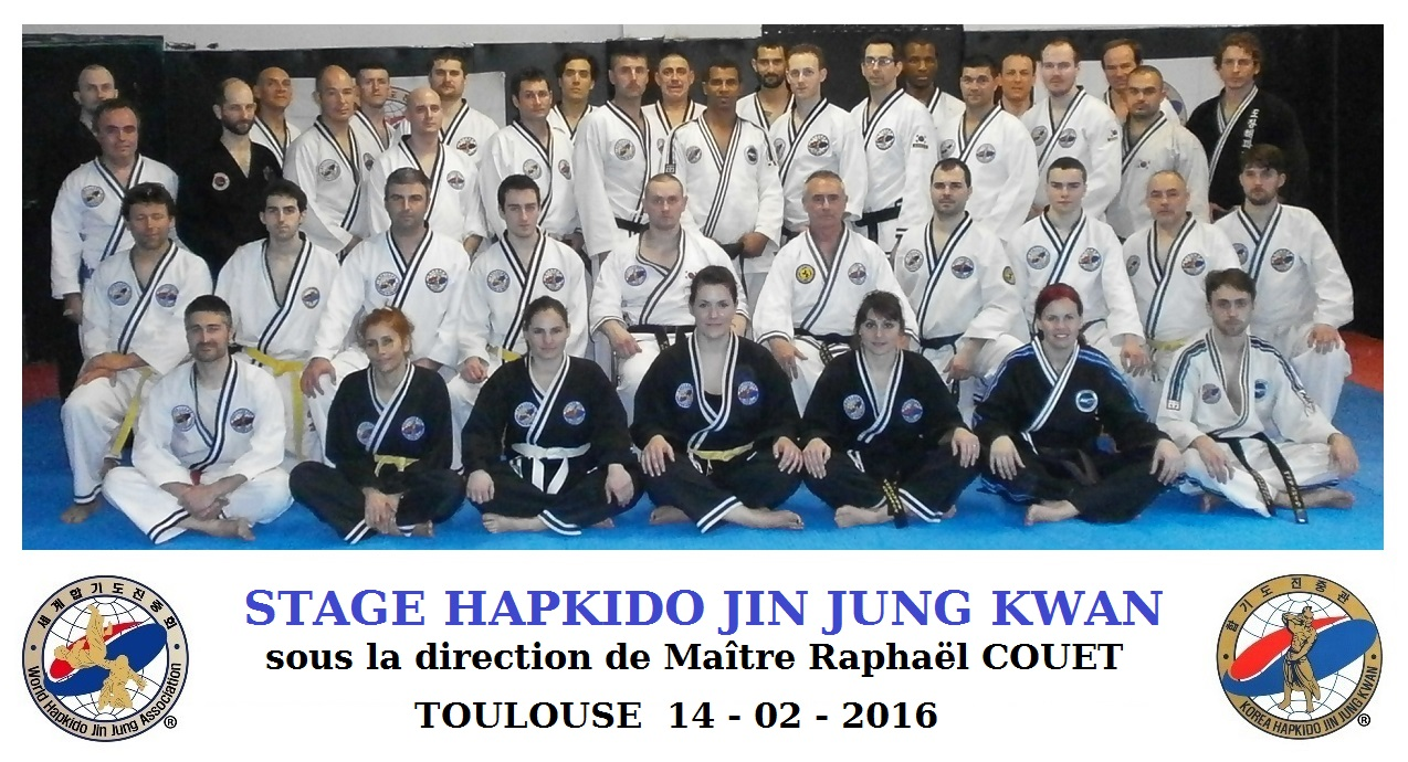 Stage KJN Couet 14/02/2016