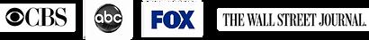 Th Wall Street Journal, Fox, CBS, NBC