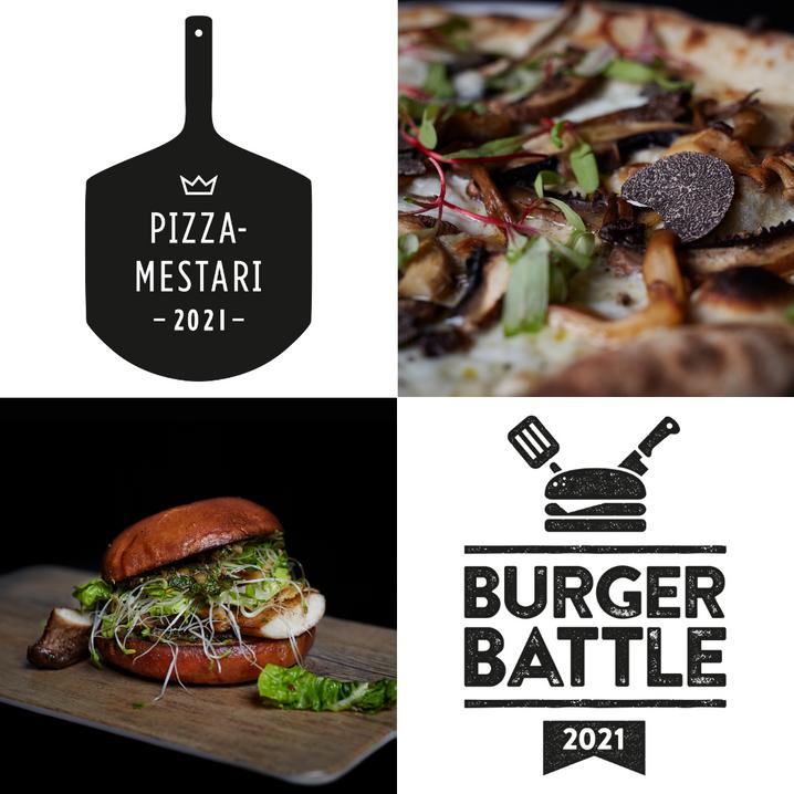 Burger Battle- ja Pizzamestari 2021-kilpailuiden semifinalistit selvillä