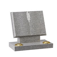 Flint Grey Granite Memorial