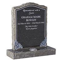 Dark Grey Granite Memorial