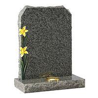 Dense Black Granite Memorial