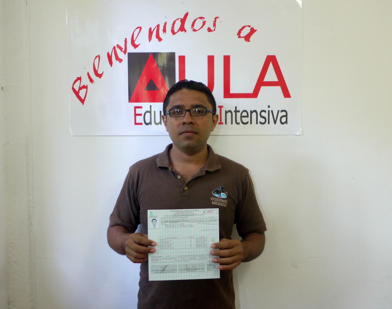 Jose Antonio certif