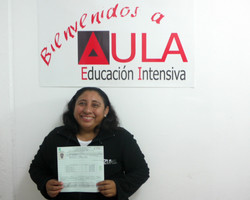 guadalupe m certificado