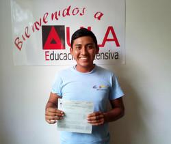 Martin Ortiz certificado