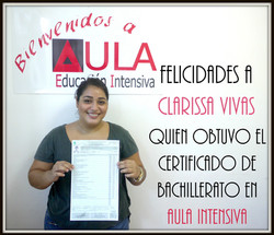 clarissa certificado