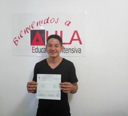 david certificado