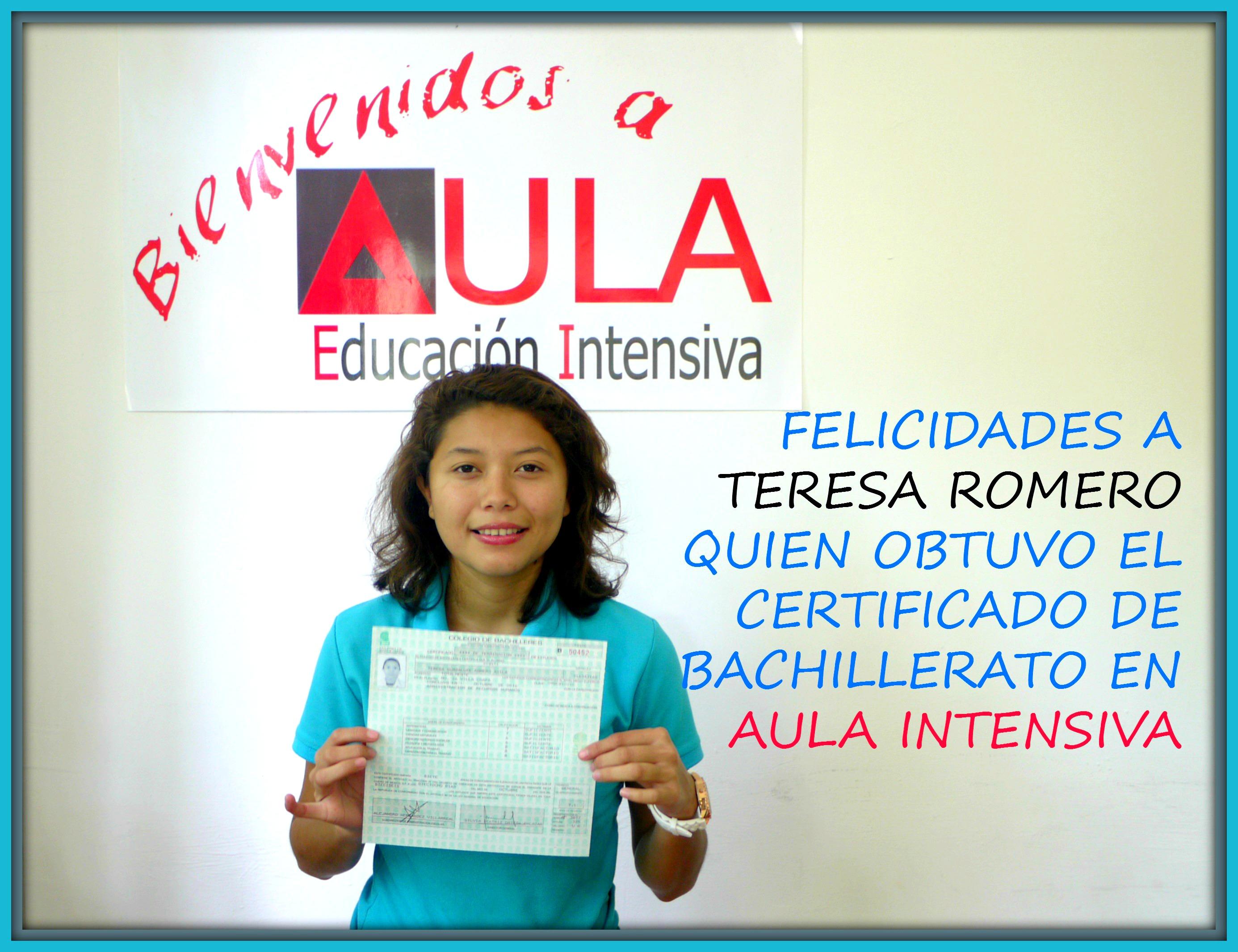 TeresaRomero-Certificado